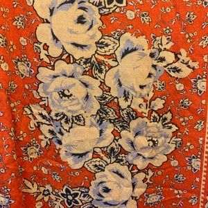 Orange Patterned UO Shift